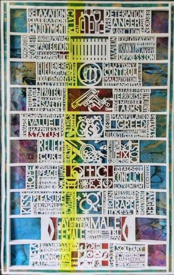 Paper cut by Nancy Schwartz-Katz